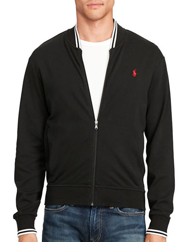 Polo Ralph Lauren Cotton Bomber Jacket-POLO BLACK-Medium 88963944_POLO BLACK_Medium