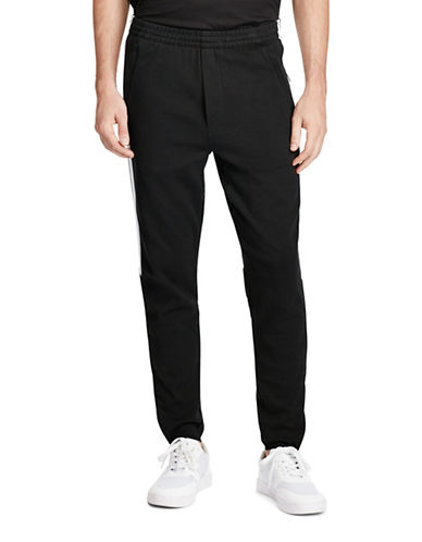 Polo Ralph Lauren Cotton Interlock Athletic Pants-BLACK-X-Large 88963966_BLACK_X-Large