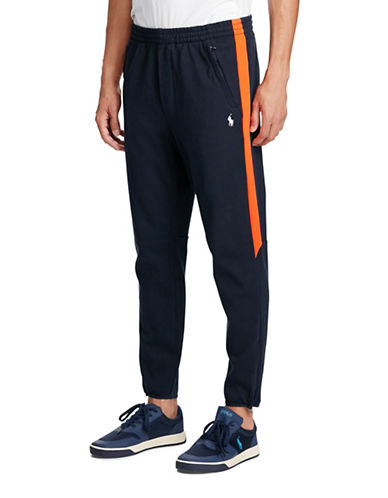 Polo Ralph Lauren Cotton Interlock Athletic Pants-BLUE-Medium 88963979_BLUE_Medium