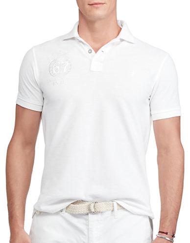 Polo Ralph Lauren Souvenir Polo-WHITE-Small