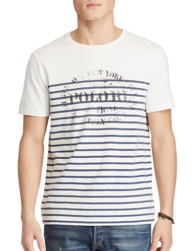Polo Ralph Lauren Cotton T-Shirt-WHITE-Small