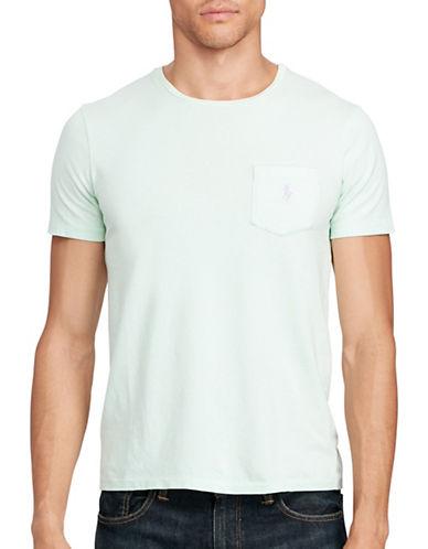 Polo Ralph Lauren Cotton Jersey Pocket T-Shirt-GREEN-X-Large 88966627_GREEN_X-Large