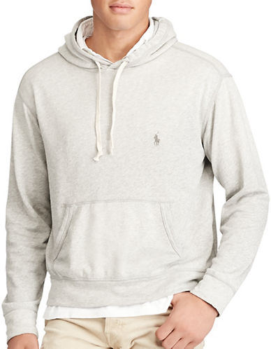 Polo Ralph Lauren Cotton Spa Terry Hoodie-GREY-Medium 88963482_GREY_Medium