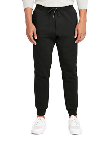 Polo Ralph Lauren Double-Knit Joggers-POLO BLACK-Medium