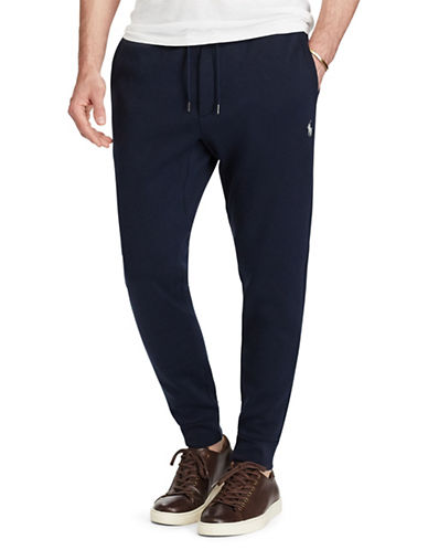 Polo Ralph Lauren Double-Knit Joggers-AVIATOR NAVY-XX-Large