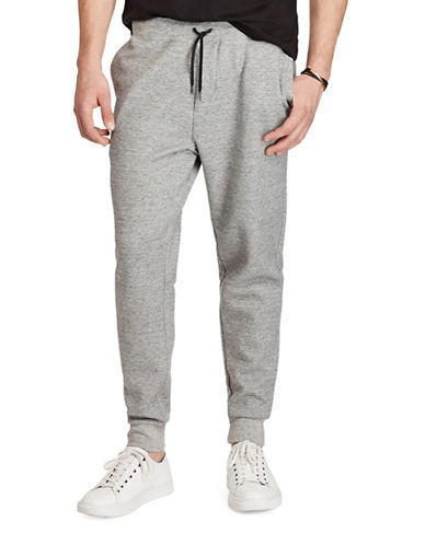 Polo Ralph Lauren Big and Tall Double-Knit Joggers-GREY-1X Big 88921712_GREY_1X Big