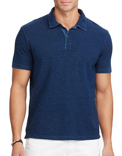 Polo Ralph Lauren Classic-Fit Cotton Mesh Polo-DARK INDIGO-5X Tall