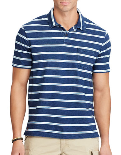 Polo Ralph Lauren Classic-Fit Cotton Jersey Polo-DARK INDIGO-4X Tall