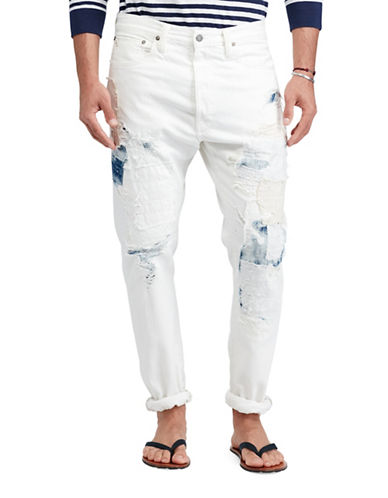 Polo Ralph Lauren Logan Loose Tapered Jean-WHITE-36X30