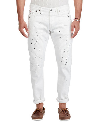 Polo Ralph Lauren Sullivan Slim Fit Jean-WHITE-34X30