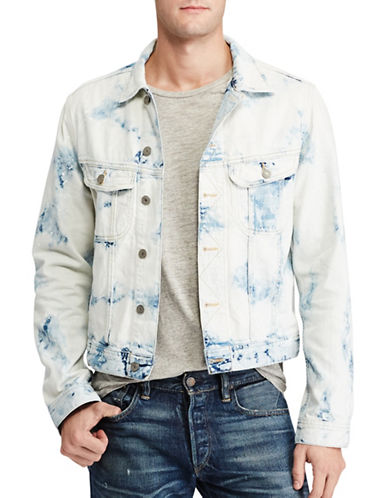 Polo Ralph Lauren Denim Trucker Jacket-WHITE-Medium 88967373_WHITE_Medium