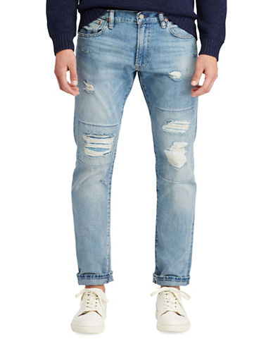 Polo Ralph Lauren Varick Slim Straight Jeans-BLUE-32X32 88965905_BLUE_32X32