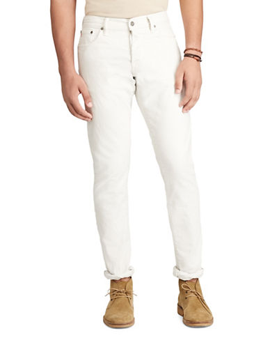 Polo Ralph Lauren Sullivan Slim-Fit Jeans-WHITE-36X30