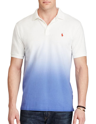 Polo Ralph Lauren Basic Mesh Knit Polo-MULTI-5X Tall