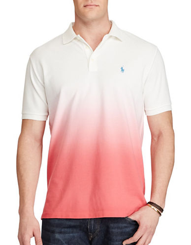 Polo Ralph Lauren Classic Fit Cotton Mesh Polo-RED-1X Big