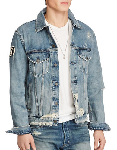 Denim & Supply Ralph Lauren Denim Trucker Jacket-BLUE-X-Large 88969436_BLUE_X-Large