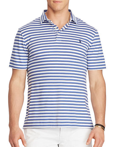 Polo Ralph Lauren Big and Tall Classic Fit Soft-Touch Polo-WHITE-1X Big