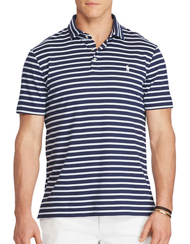 Polo Ralph Lauren Big and Tall Classic Fit Soft-Touch Polo-NAVY-2X Tall