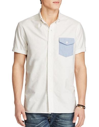 Polo Ralph Lauren Standard Fit Cotton Shirt-WHITE-X-Large