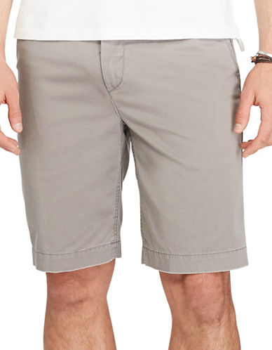 Polo Ralph Lauren Relaxed Fit Cotton Chino Shorts-GREY-36 88965576_GREY_36