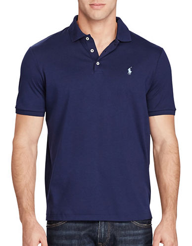 Polo Ralph Lauren Cotton Polo-NAVY-XX-Large