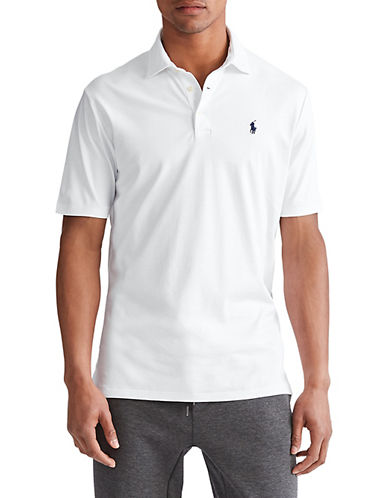 Polo Ralph Lauren Cotton Polo-WHITE-Medium