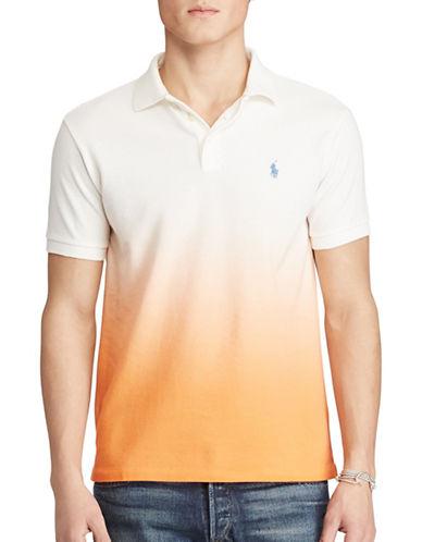 Polo Ralph Lauren Classic Fit Cotton Mesh Polo-ORANGE-X-Large