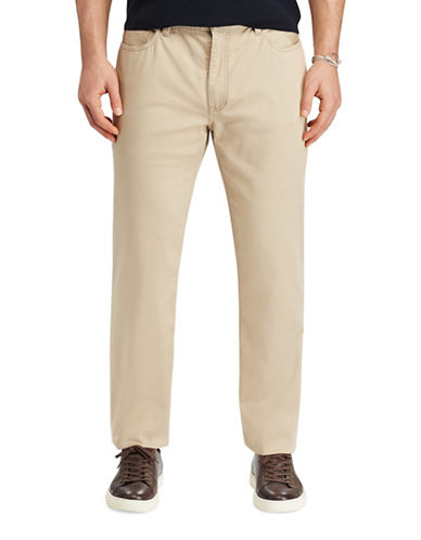 Polo Ralph Lauren Varick Stretch Classic Fit Pants-BEIGE-44X30