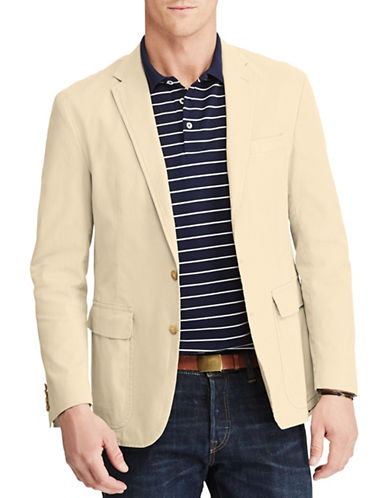 Polo Ralph Lauren Morgan-Fit Stretch Chino Sport Coat-BEIGE-40