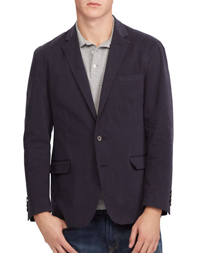 Polo Ralph Lauren Morgan Stretch Chino Sport Coat-BLUE-40