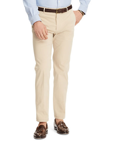 Polo Ralph Lauren Dalton Stretch Chino Trousers-BEIGE-33X32