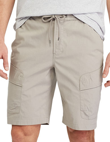 Chaps Performance Cargo Shorts-GREY-Small