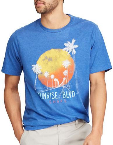 Chaps Cotton-Blend Graphic T-Shirt-BLUE-Medium 89209834_BLUE_Medium