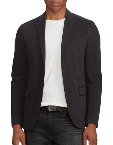 Polo Ralph Lauren Chino Collins Sport Coat-BLACK-38