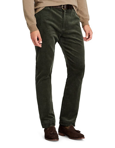 Polo Ralph Lauren Stretch Classic Fit Corduroy Pants-GREEN-42X36