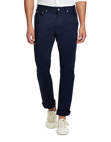 Polo Ralph Lauren Classic-Fit Stretch Pants-BLUE-40X36