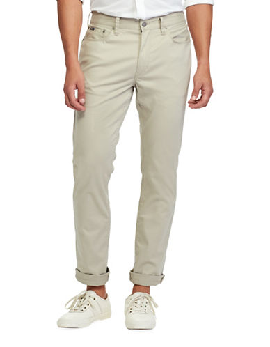 Polo Ralph Lauren Classic-Fit Stretch Pants-BEIGE-40X36