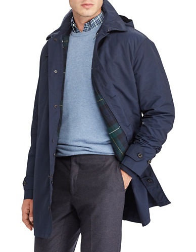Polo Ralph Lauren Commuter Coat-BLUE-1X Tall