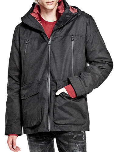 Guess Jonathan 2-in-1 Jacket-BLACK-X-Large 88782725_BLACK_X-Large