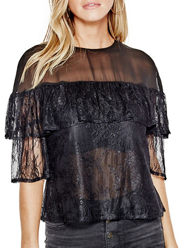 Guess Rudy Lace Top-BLACK-Large 88930404_BLACK_Large