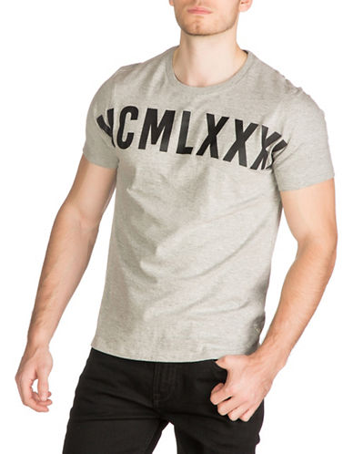 Guess MCM Graphic T-Shirt-GREY-Large 88948371_GREY_Large