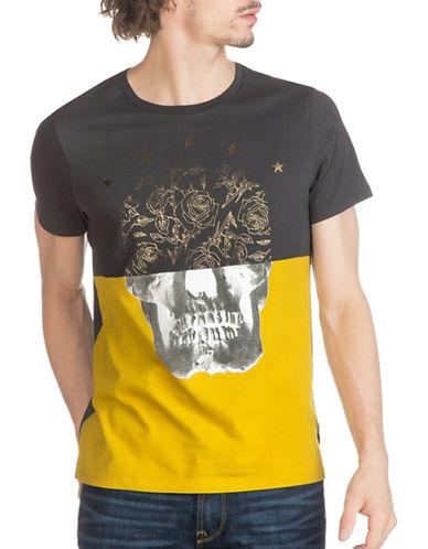 Guess Mars Graphic Skull T-Shirt-GREY-XX-Large 88875108_GREY_XX-Large
