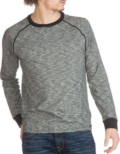 Guess Cliff Space-Dyed Raglan T-Shirt-GREY-XX-Large 88875133_GREY_XX-Large