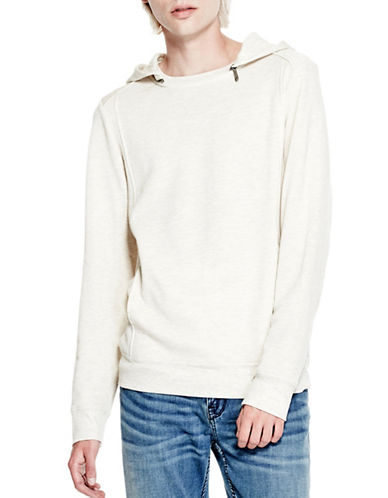Guess Terry Moto Hoodie-GREY-X-Large 88948465_GREY_X-Large