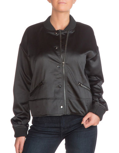 Guess Astor Bomber Jacket-BLACK-X-Large 88930445_BLACK_X-Large