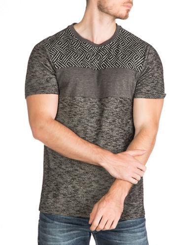 Guess Burton Melange T-Shirt-BLACK-Small 88782870_BLACK_Small
