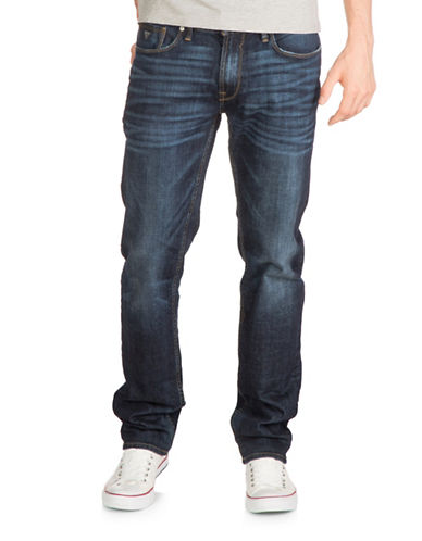 Guess Slim Straight Jeans-BLUE-31