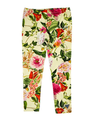 Guess Knitted Floral Leggings-PRINT-6X