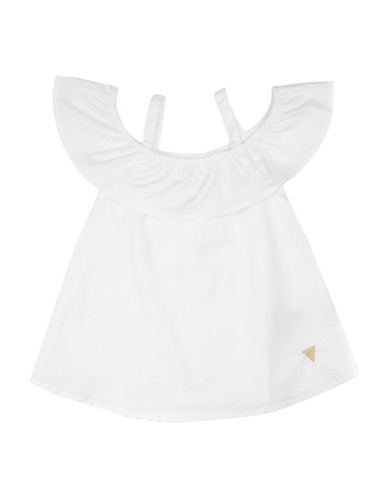 Guess Off-the-Shoulder Top-WHITE-2T