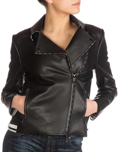 Guess Daphnee Moto Jacket-BLACK-X-Large 89017897_BLACK_X-Large